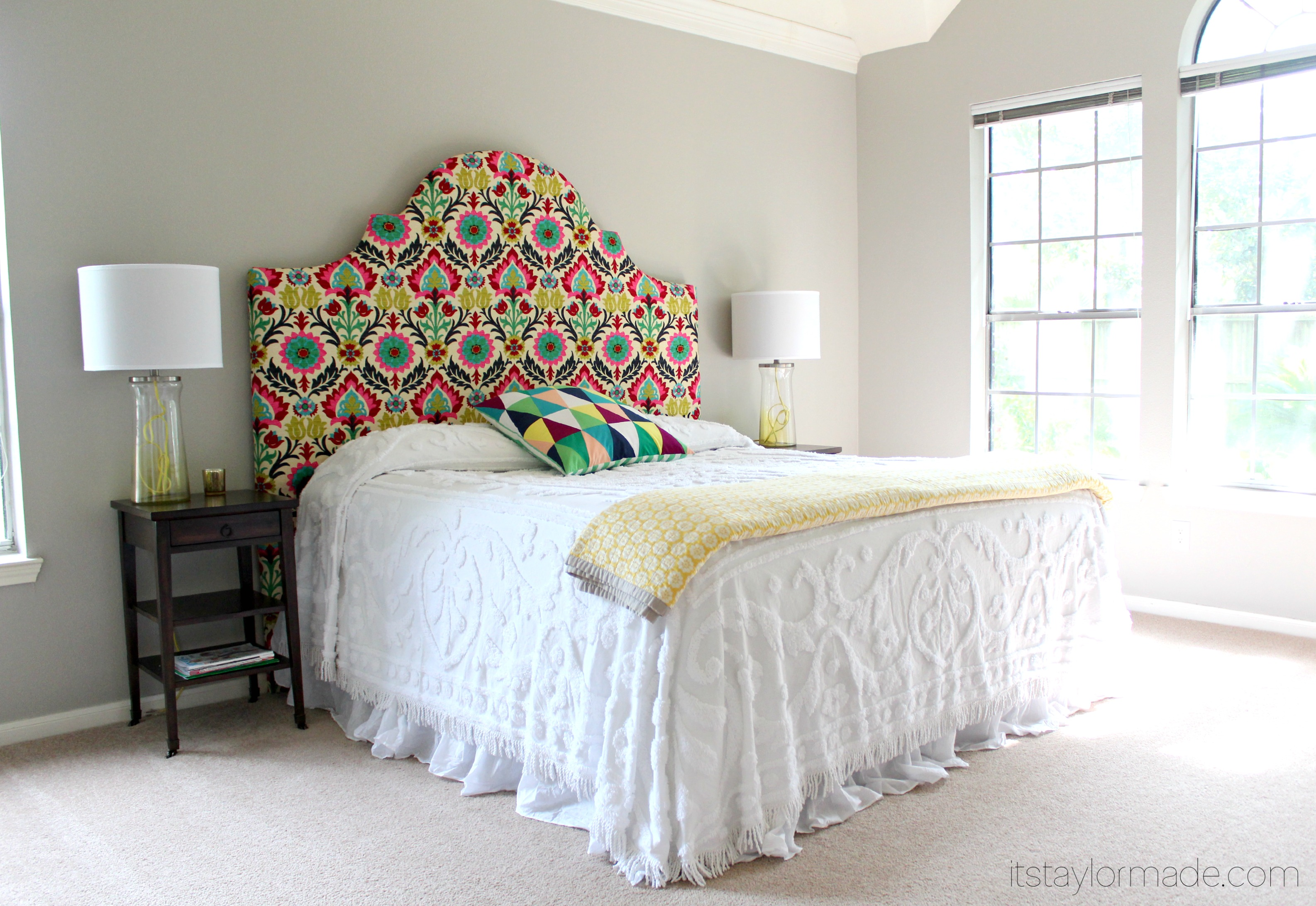upholstery to wings diy make alo with how watch youtube tufted upholstered headboard