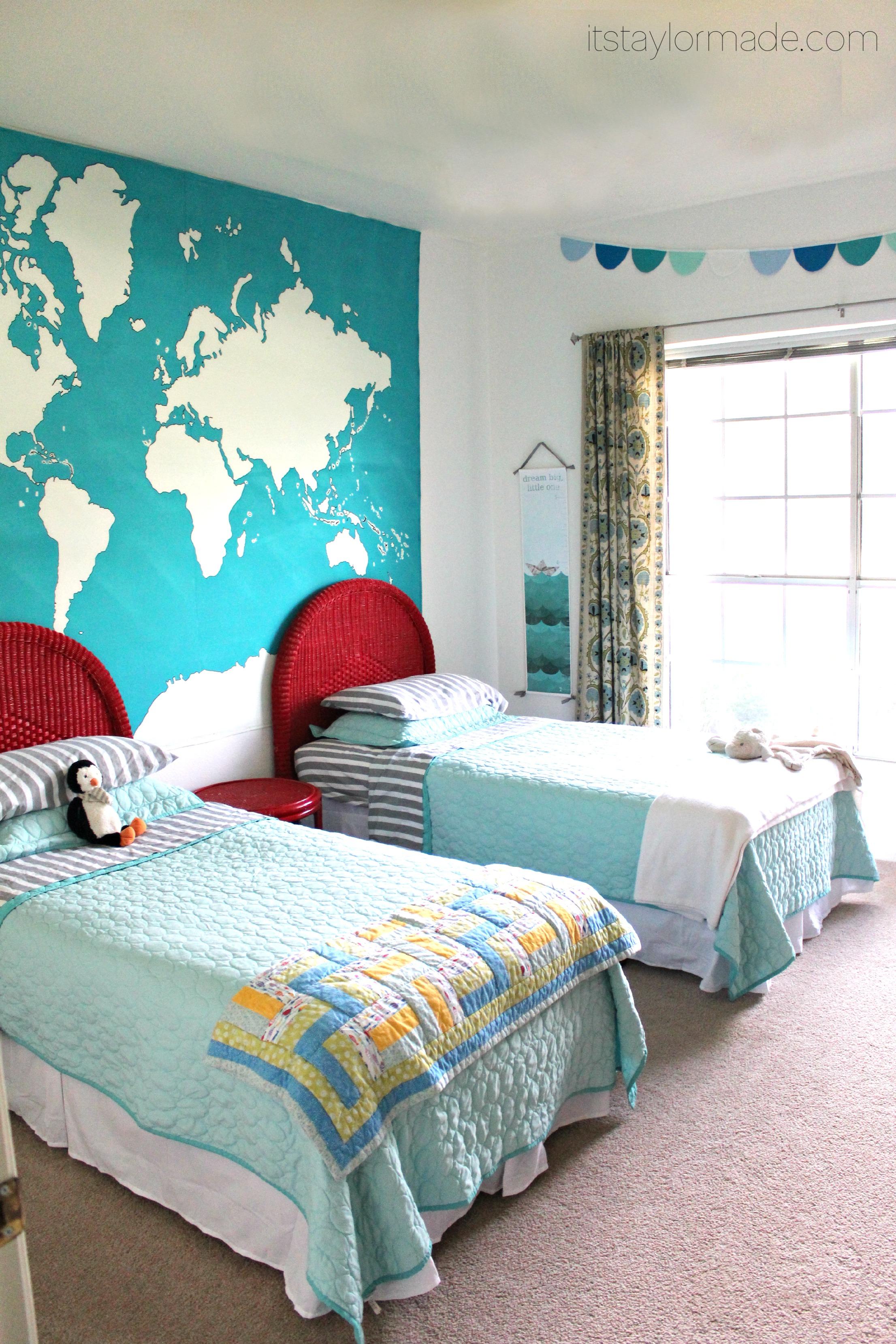 Shared Boys Room Boys shared bedroom u0026 Boys Room