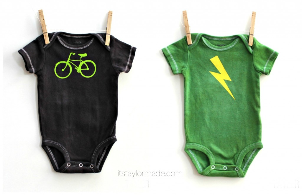 boy onesies from TaylorMade