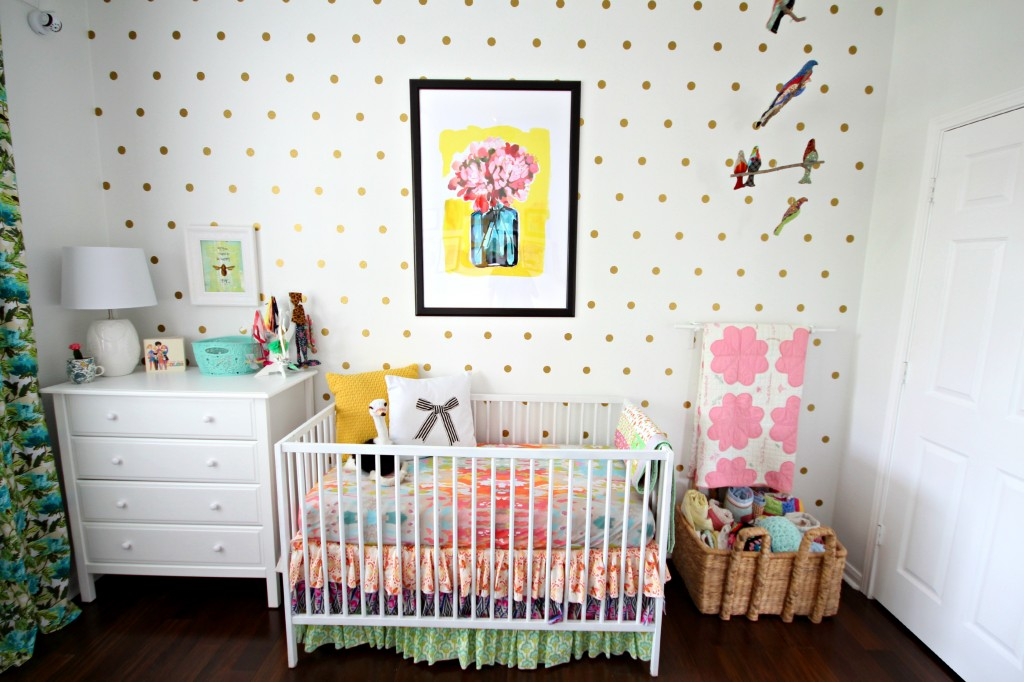 colorful eclectic nursery