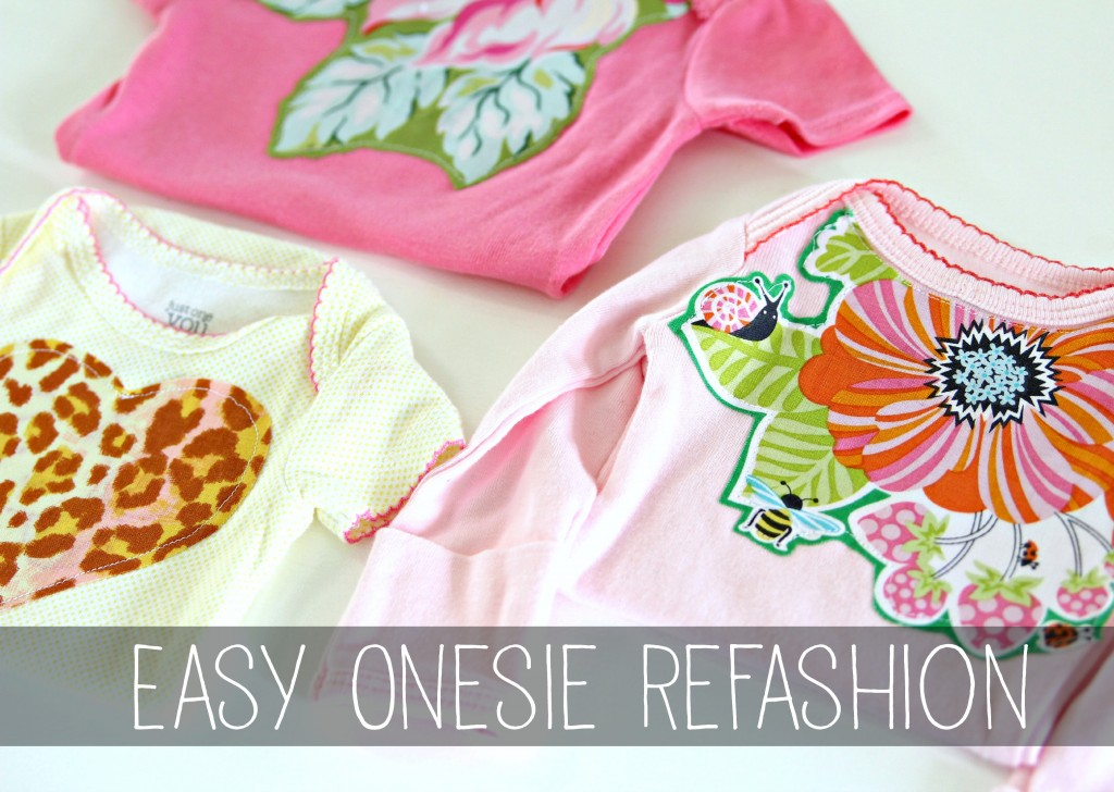 onesie refashion