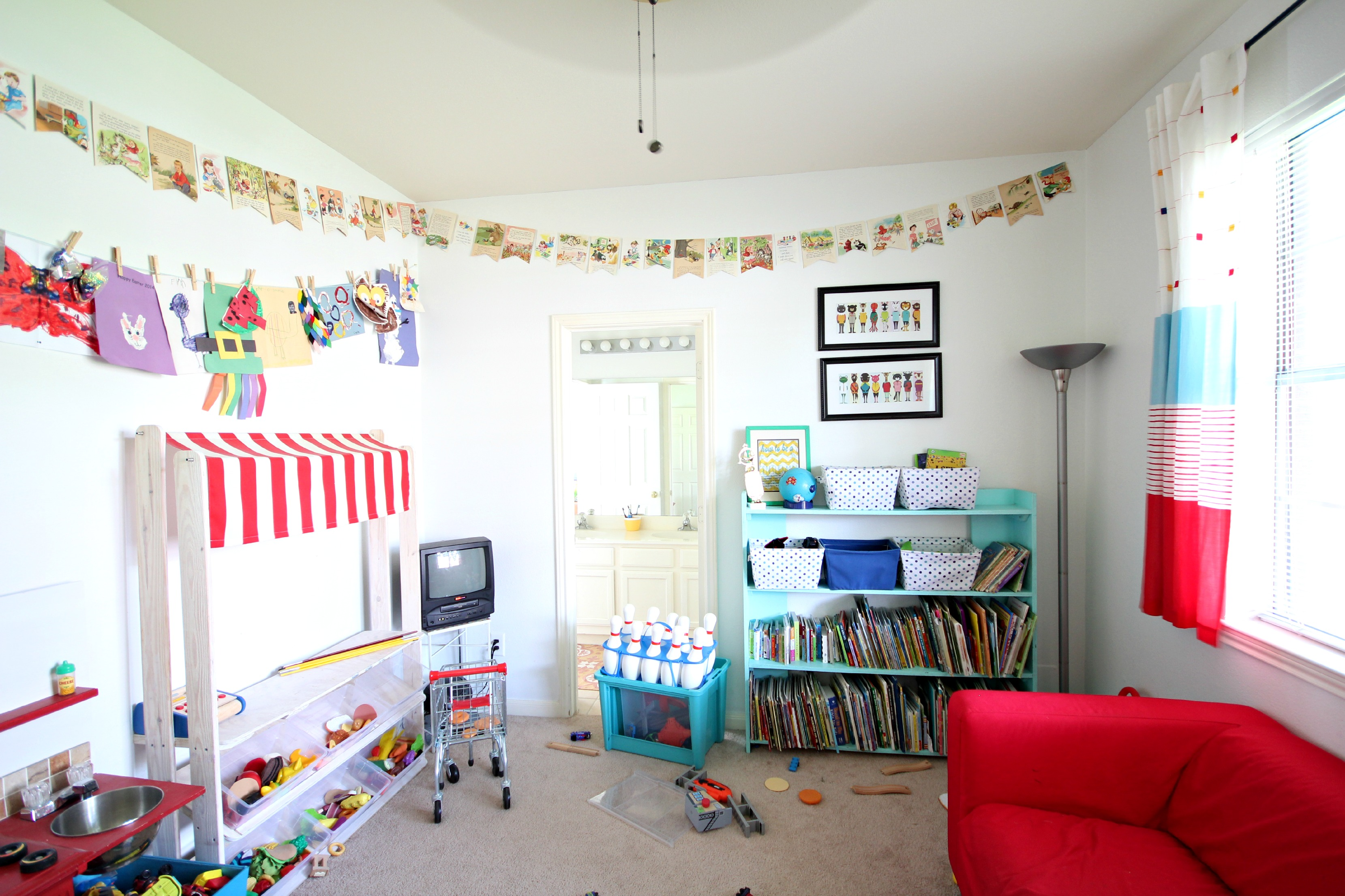 Boy And Girl Playroom