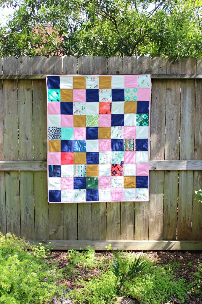 square coyote quilt