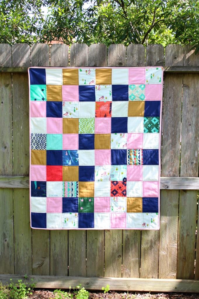 coyote square quilt