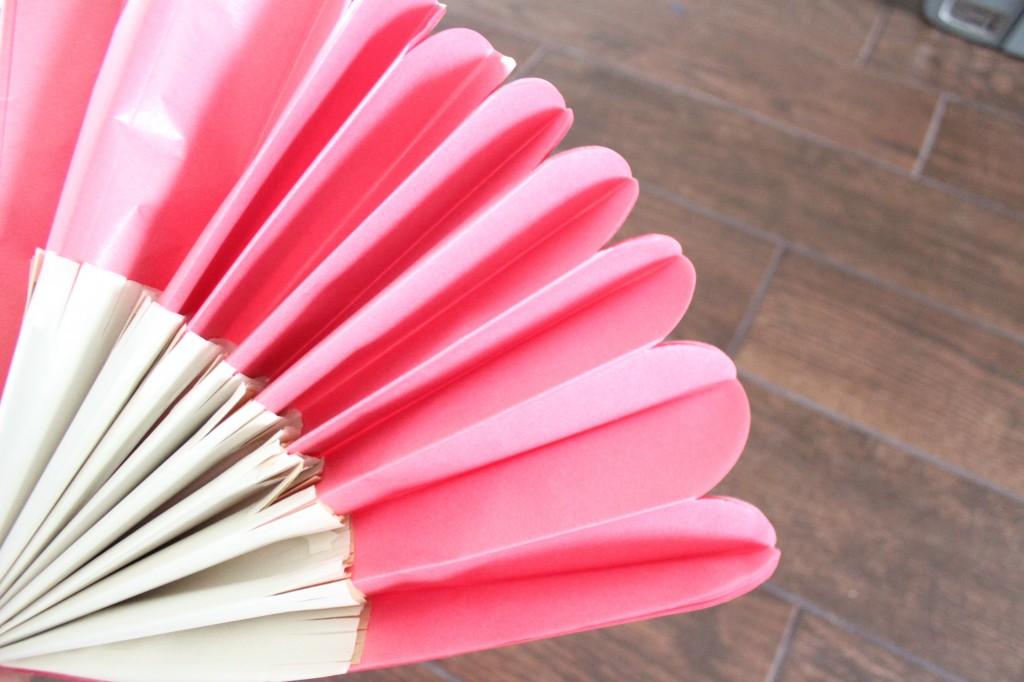 tissue paper pom pom flower kit