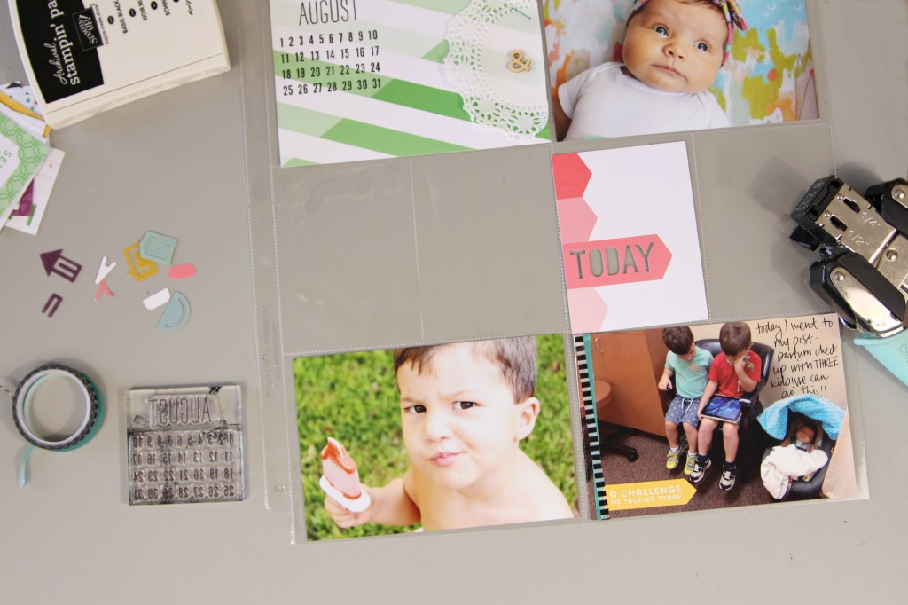 Catching up on Project Life with Stampin Up!