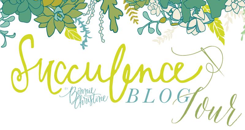succulence fabric line