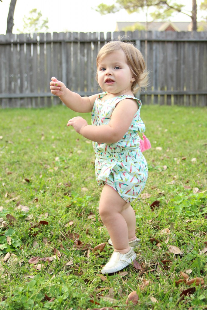 Chalk and Paint Romper
