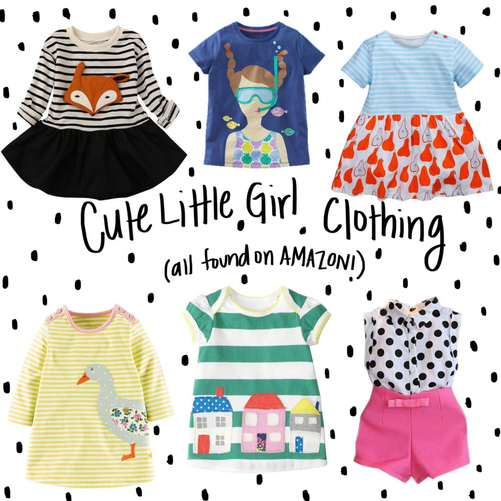 cute little girls clothing