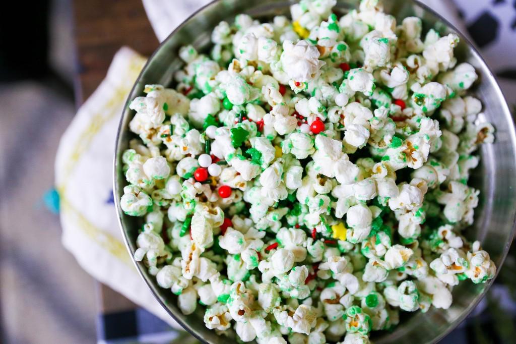 Grinch Munch Popcorn