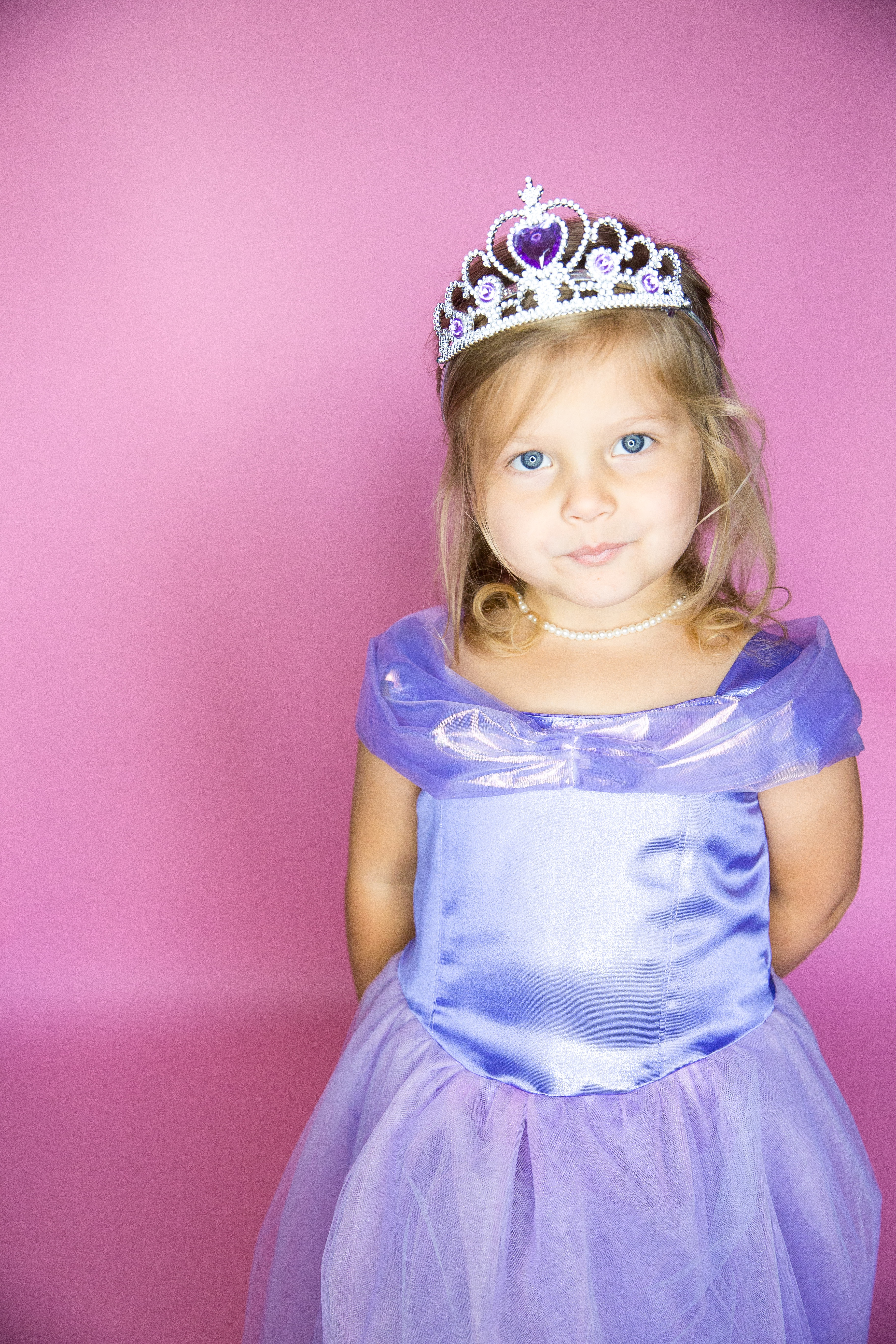 Pruple Princess Costume-44