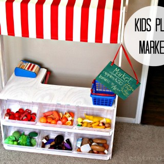 DIY Kids Play Market