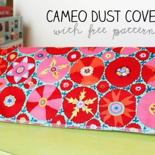Silhouette Cameo Dust Cover (with pattern)