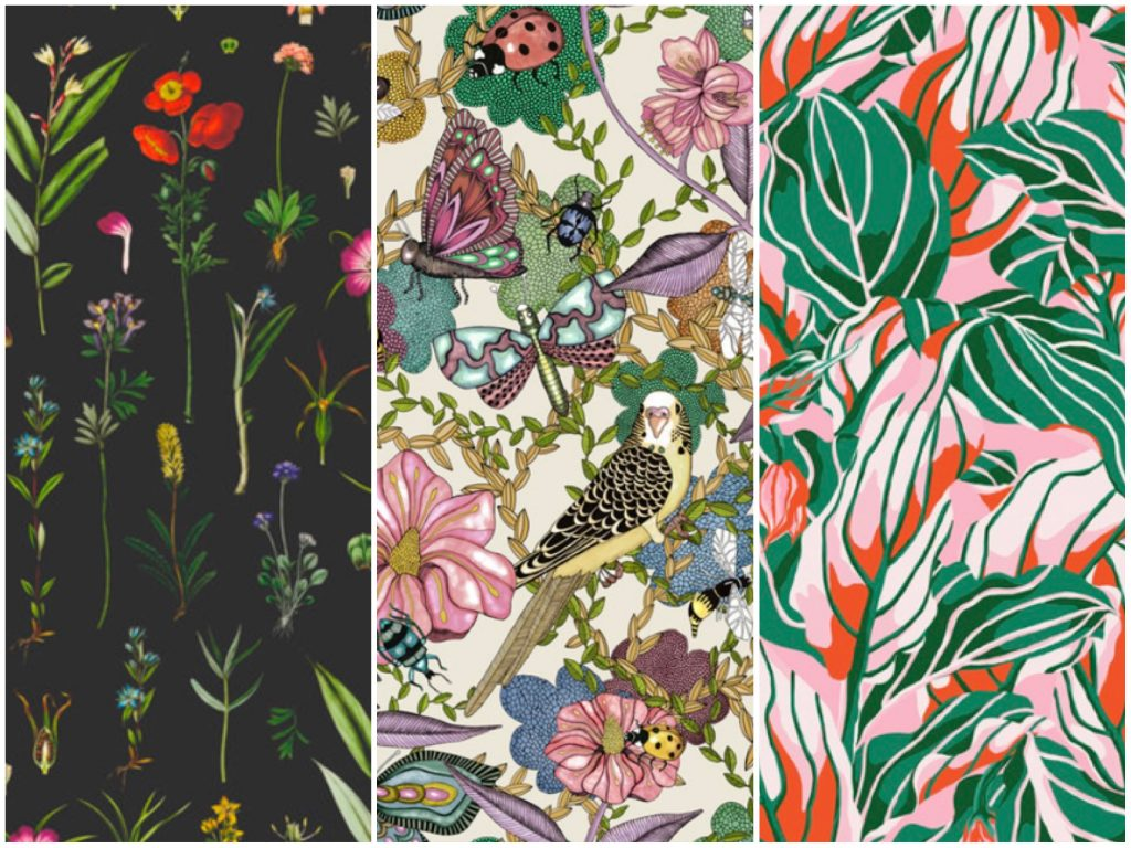Floral Wallpaper Options